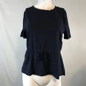 J. Crew Women's Blue Small Short Sleeve Shirt
